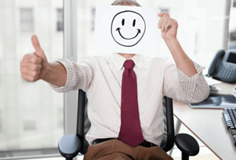 - business picture of happy