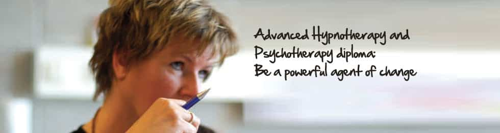 Advanced Hypnotherapy and Psychotherapy Diploma - female mature student